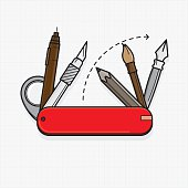 Designer tools as swiss army knife