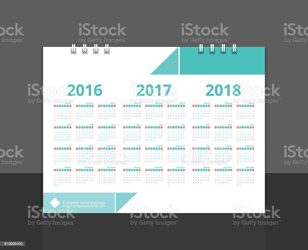 Desk calendar 2017 back cover design layout template vector stock desk calendar 2017 back cover design layout template vector royalty free desk calendar 2017 saigontimesfo