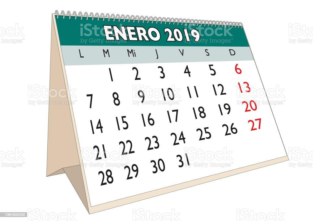 2019 in spanish
