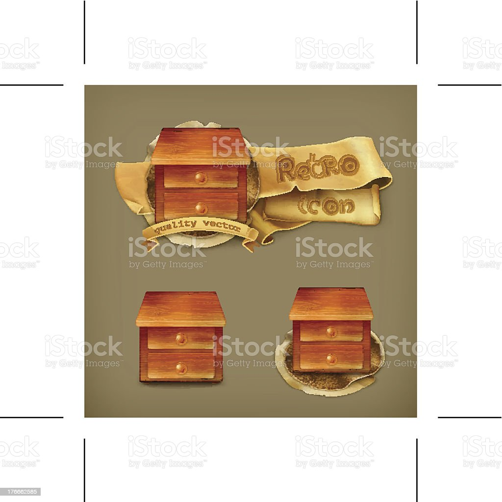 Desk icon royalty-free desk icon stock vector art & more images of backgrounds