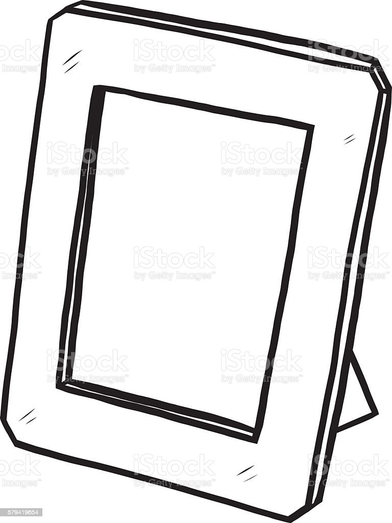 desk photo frame stock vector art more images of art 579419654 rh istockphoto com vector picture frames free download vector picture frame psd
