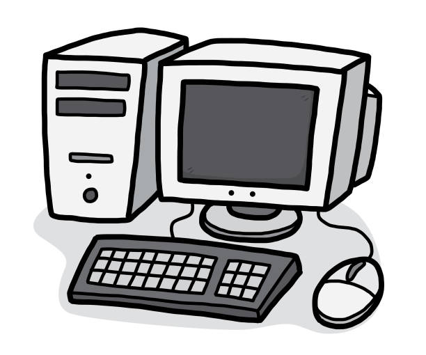 c51bc7e4d74 Top Drawing Of The Computer Cpu Clip Art