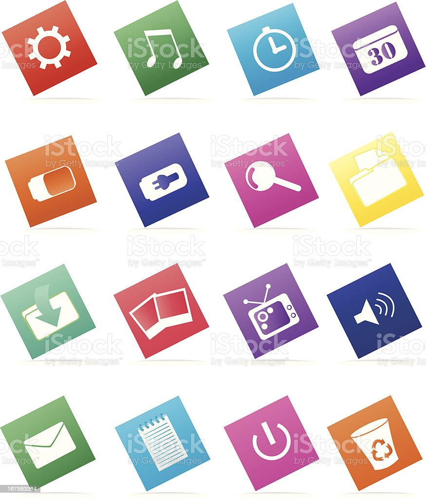 Desktop Icons royalty-free desktop icons stock vector art & more images of animals charging