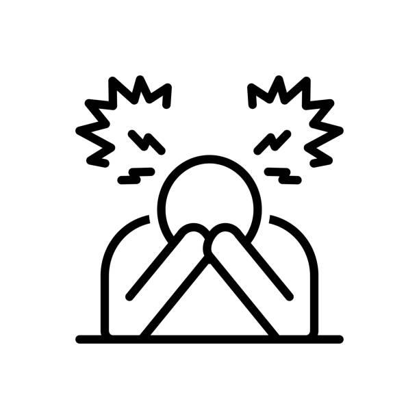 verzweiflung enttäuschung - frustration stock-grafiken, -clipart, -cartoons und -symbole