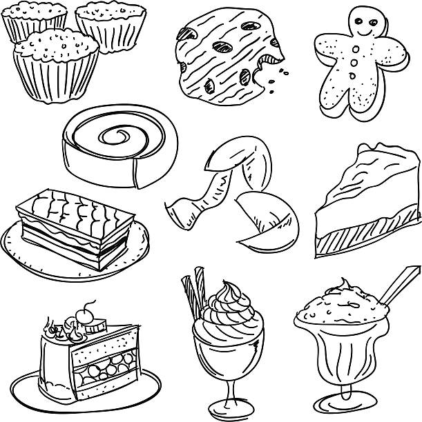 Royalty Free Chocolate Chip Cookies Clip Art, Vector ...