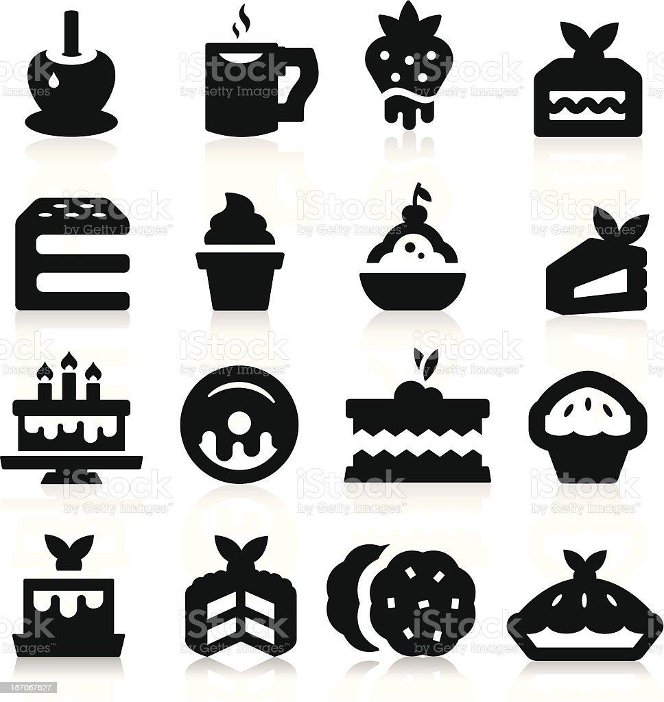 Dessert Icons royalty-free stock vector art