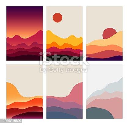 istock Dessert poster design collection 1299218600