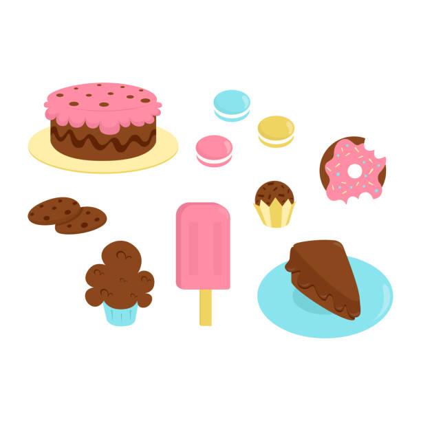 ilustrações, clipart, desenhos animados e ícones de jogo da sobremesa - brigadeiro