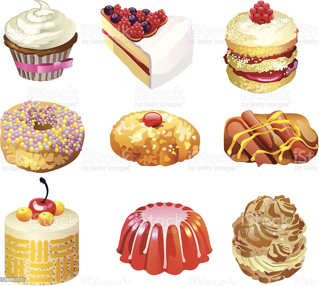 Dessert Stock Illustration - Download Image Now - iStock