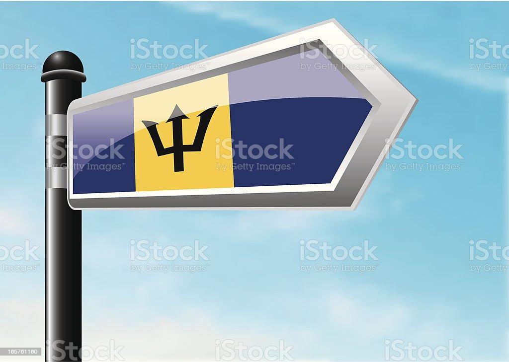 Destination: Barbados royalty-free stock vector art