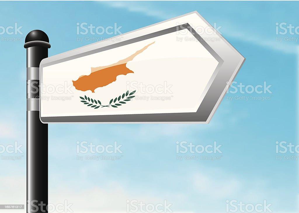 Destination: Cyprus royalty-free stock vector art