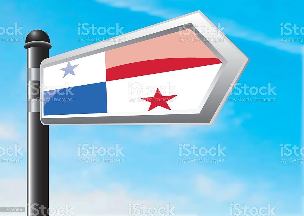 Destination: Panama royalty-free stock vector art