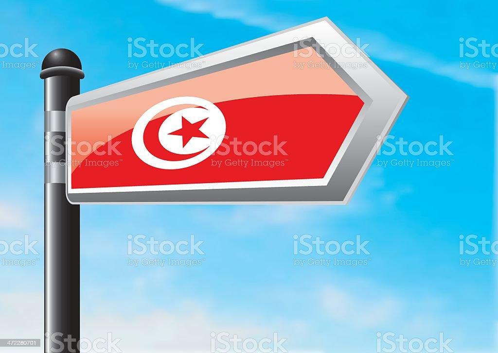 Destination: Tunisia royalty-free stock vector art