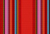 detail background with mexican color. texture pattern for continuous replicate. mexican rug pattern. serape stripes vector