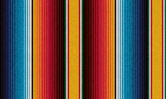 detail seamless color background. texture pattern for continuous replicate. mexican rug pattern. serape stripes vector
