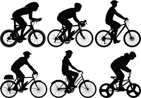Detailed Bike Riders