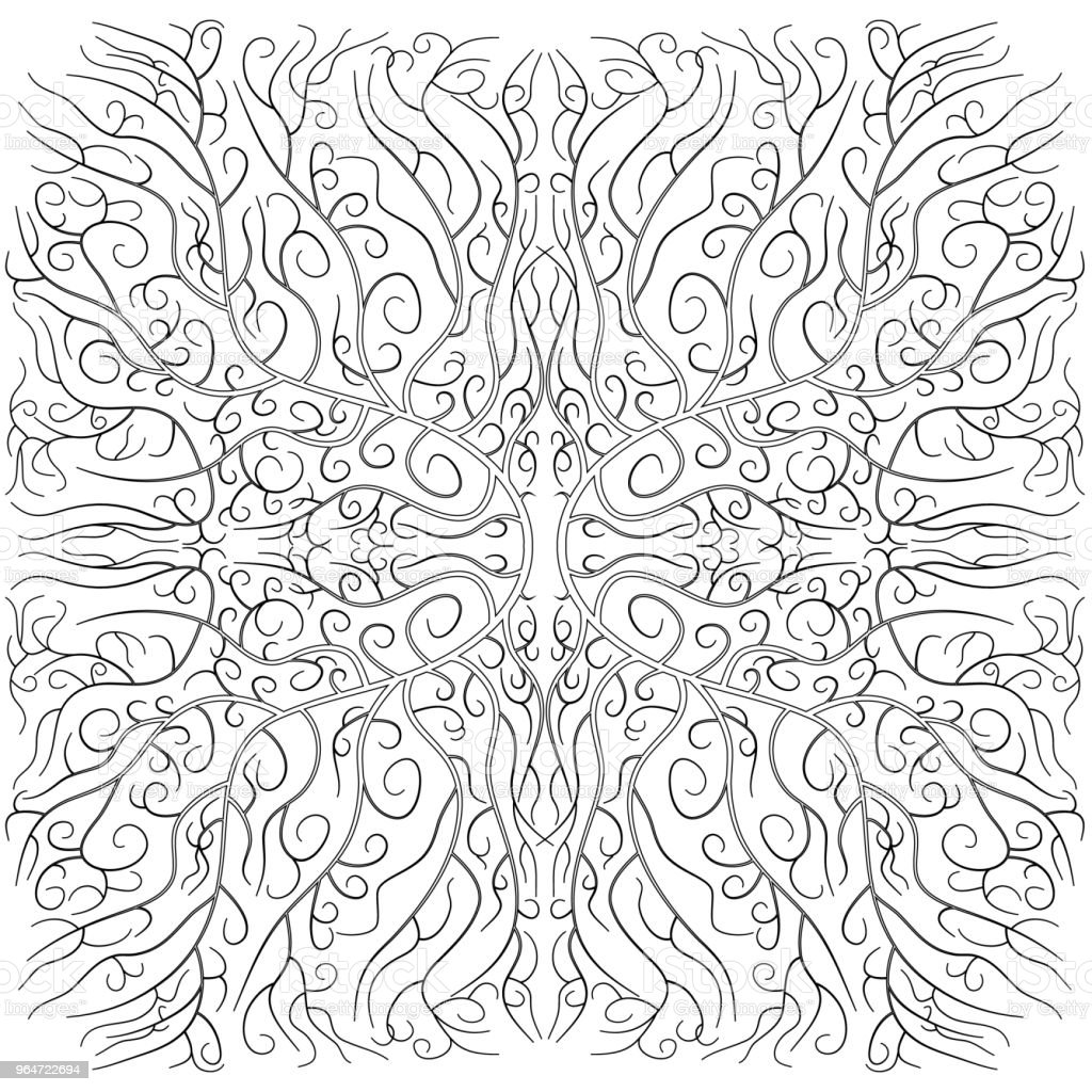 Detailed decorative pattern royalty-free detailed decorative pattern stock vector art & more images of abstract