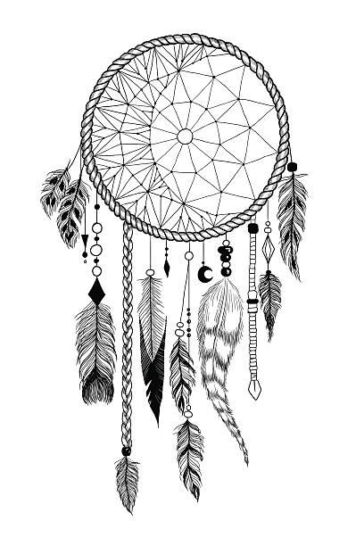 detailed dream catcher coloring pages - photo#31