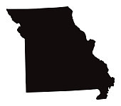 Detailed Map of Missouri State