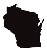 Detailed Map of Wisconsin State