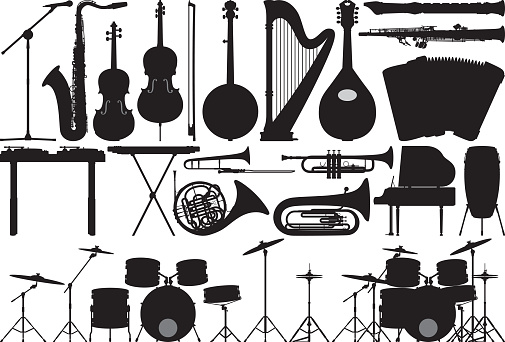 Detailed Musical Instruments