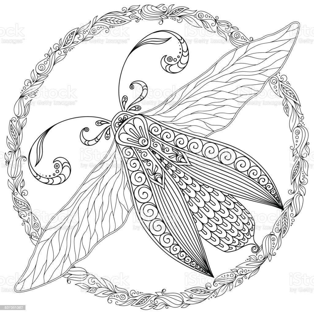 Fantastisch Detaillierte Schmetterling Malvorlagen Fotos Framing