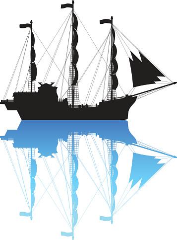 Detailed Pirate Ship