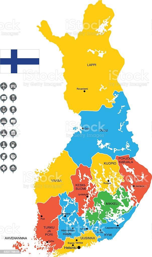 Maps Finland