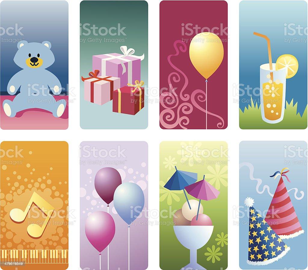 Detailed vignettes - celebration. royalty-free detailed vignettes celebration stock vector art & more images of baby shower