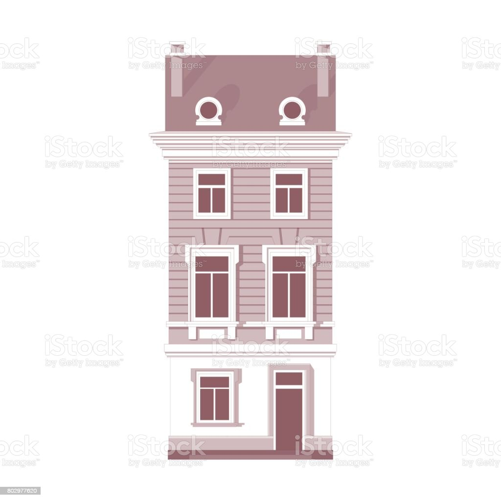 Vintage house vector