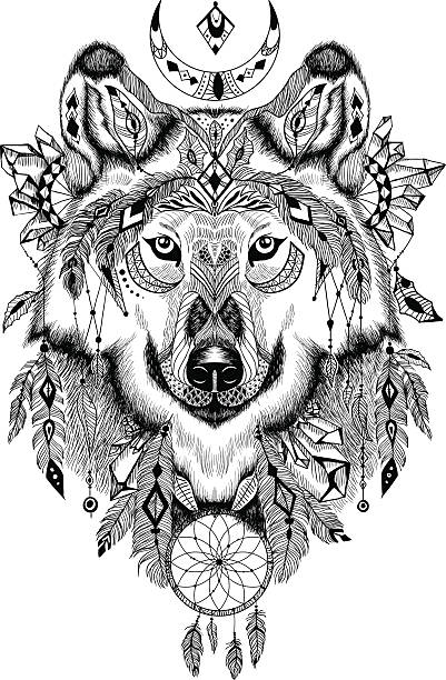 royalty free black dream catcher drawings clip art vector images