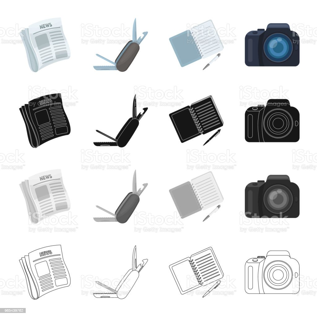 Detective and Attributes cartoon black monochrome outline icons in set collection for design.Detective Agency vector symbol stock web illustration. royalty-free detective and attributes cartoon black monochrome outline icons in set collection for designdetective agency vector symbol stock web illustration stock vector art & more images of announcement message