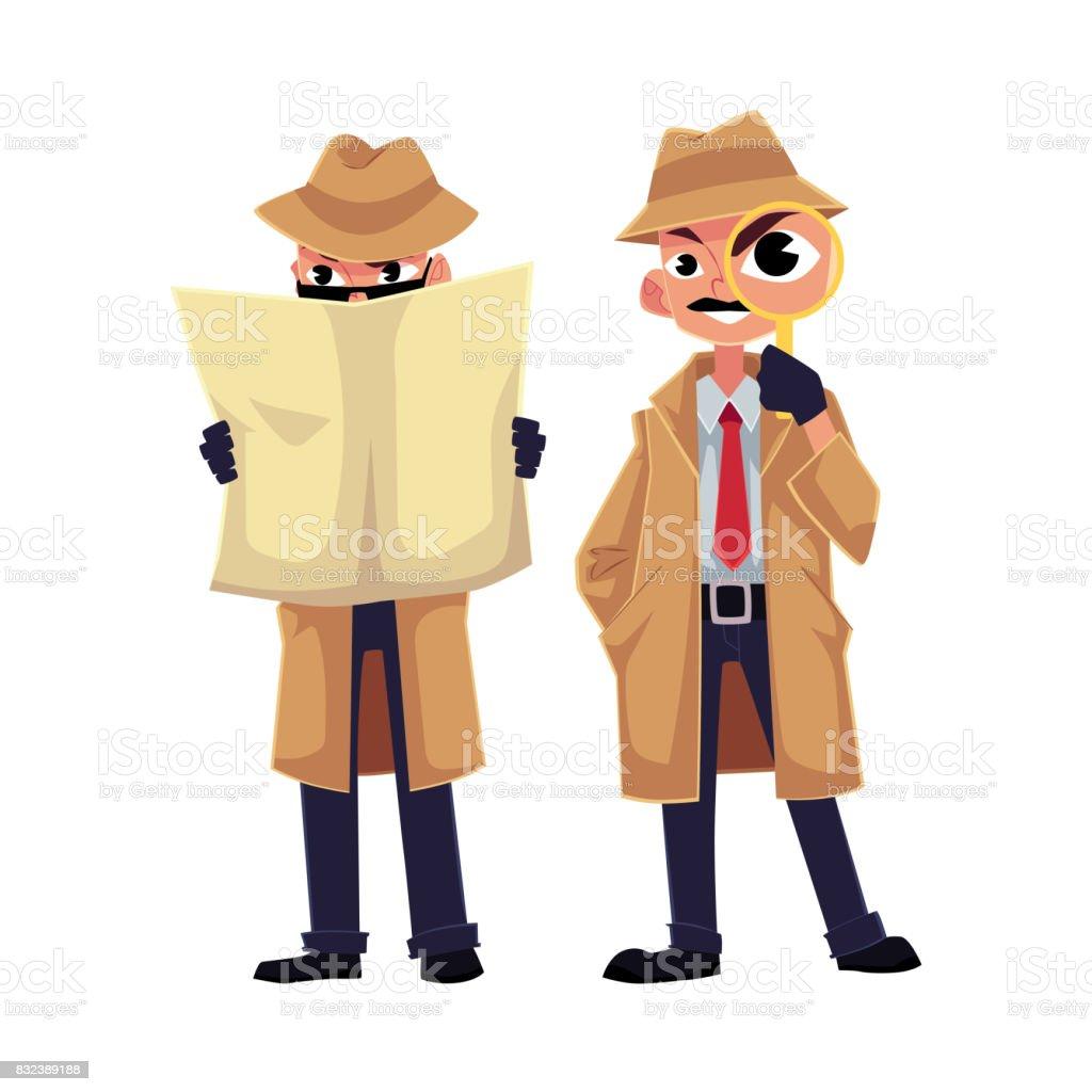 comic spionage