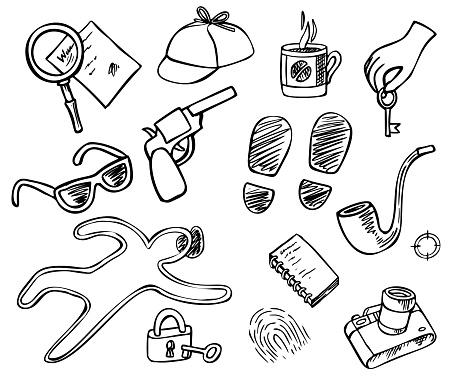 Detective Doodle Set