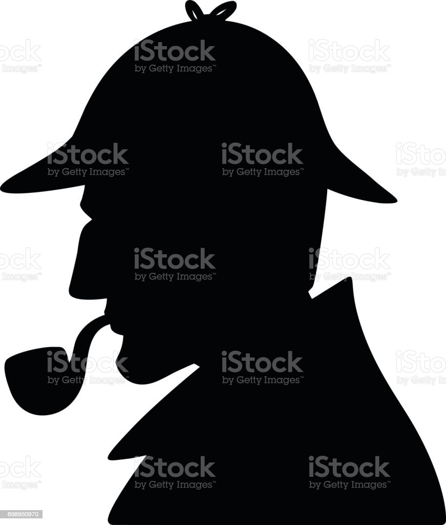 royalty free sherlock holmes clip art vector images illustrations rh istockphoto com sherlock holmes caricature clipart free sherlock holmes hat clipart