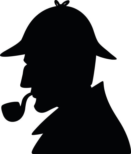 Detective Hat A vector illustration of a Detective Hat. sherlock holmes stock illustrations