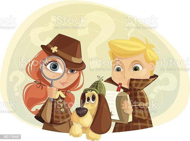 Detective kids vector id160178497?b=1&k=6&m=160178497&s=612x612&h=jmpew h8rcy9b12txmq3qlg7ncjwga5nyf5bze3t ly=