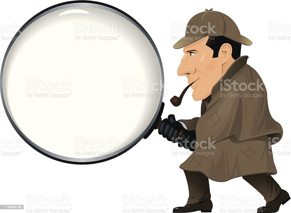 Detective With Magnify...