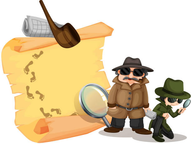 Best Female Detective Illustrations, Royalty-Free Vector