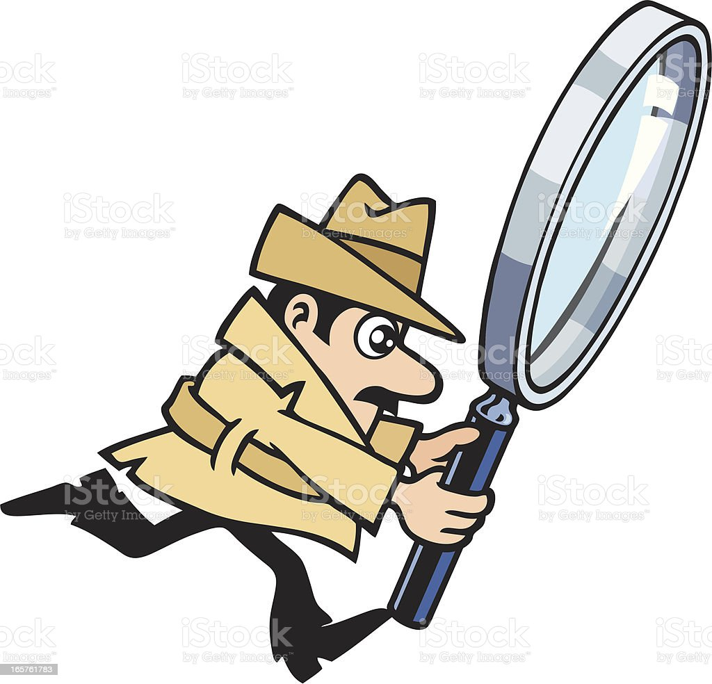 Detective's Running royalty-free detectives running stock vector art & more images of adult
