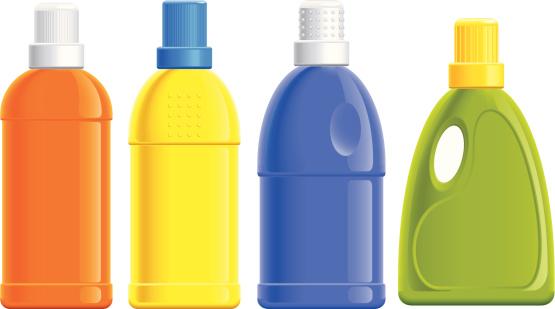 detergent bottles (vector)