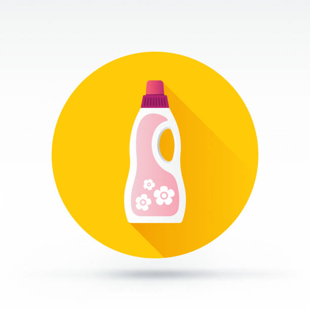 waschmittel-symbol - weichspüler stock-grafiken, -clipart, -cartoons und -symbole