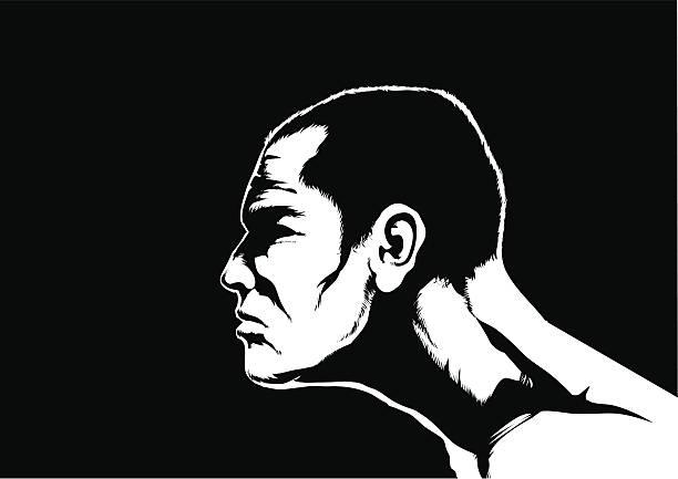 Determination vector art illustration
