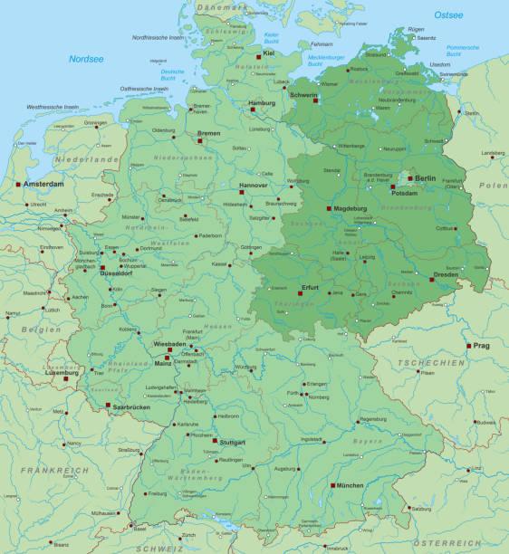 deutschland_detail_neuelaender_01 – Vektorgrafik