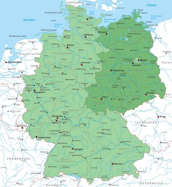 deutschland_detail_neuelaender_02 – Vektorgrafik