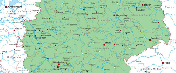 deutschland_mitte_v2 – Vektorgrafik