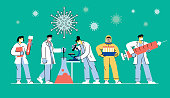 istock Developing coronavirus vaccine 1218555815
