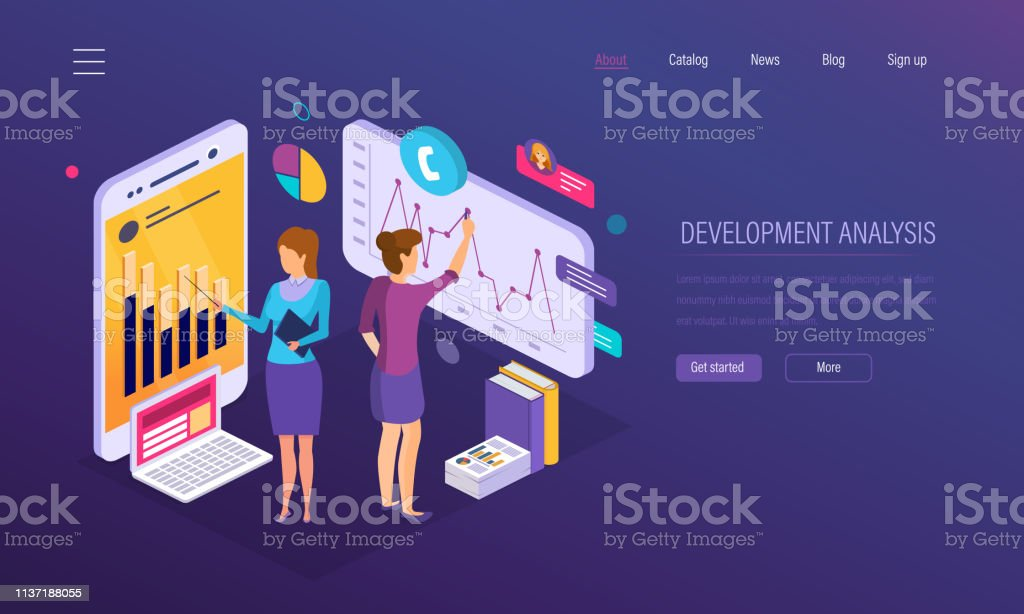 Development analysis, research of statistics indicators, financial...