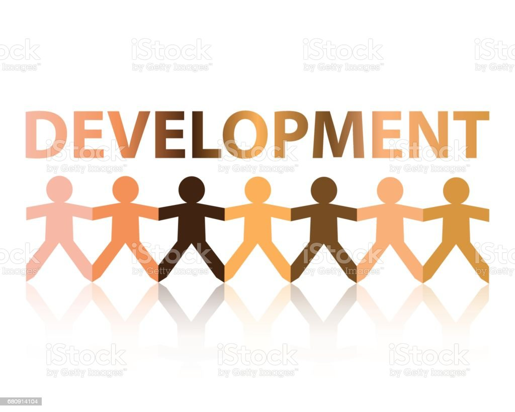 Development Paper People royalty-free development paper people stock vector art & more images of creativity