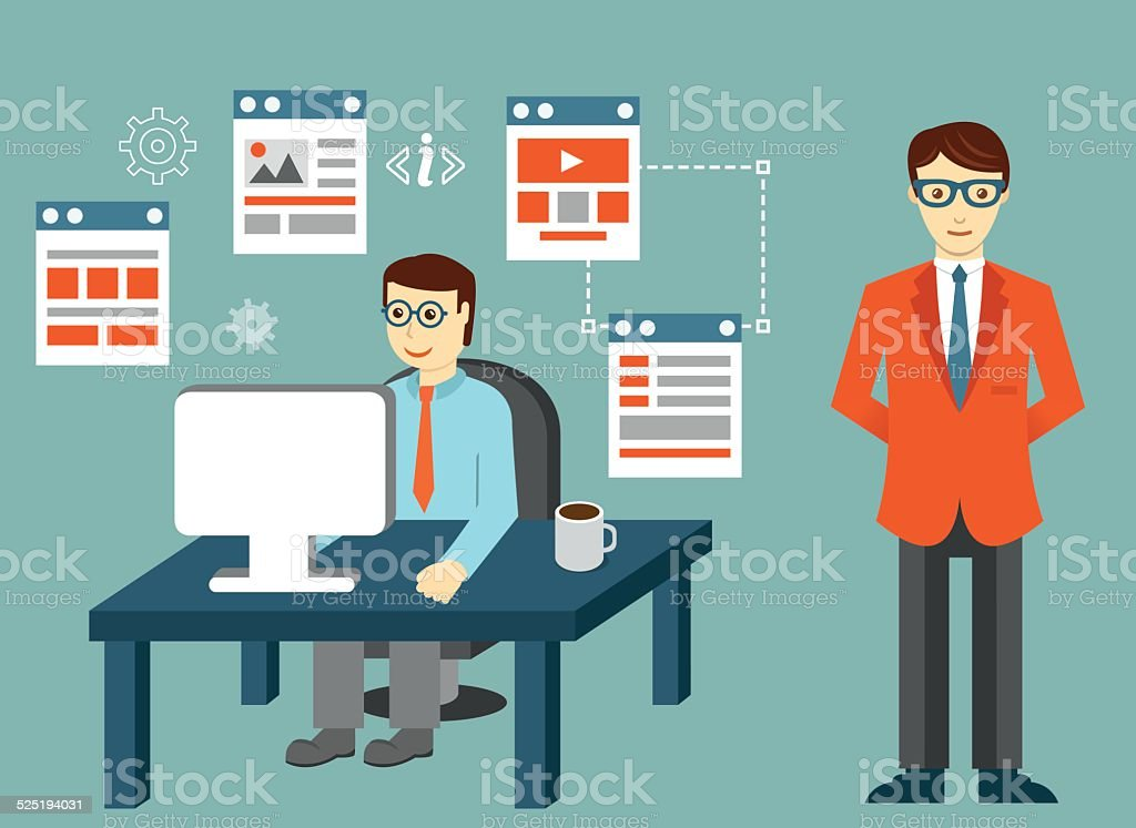 Development skeleton framework of a website or application royalty-free development skeleton framework of a website or application stock vector art & more images of activity